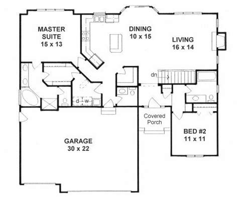 ranch open floor plans the ranch is efficient and affordable with a more open