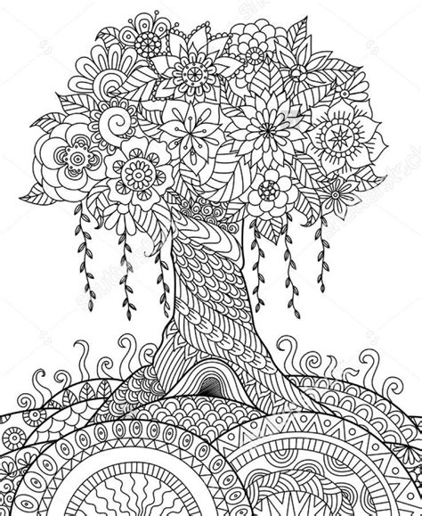 trees more coloring book books 3494 best images about coloring pages on