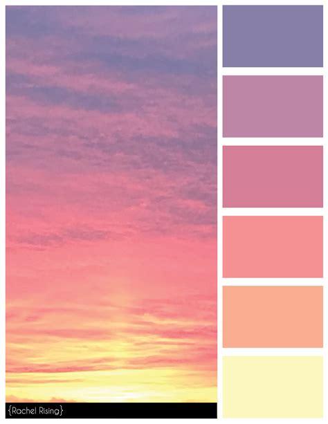 sunset color scheme rachelrisingdesign in 2019 rkaye color schemes sunset