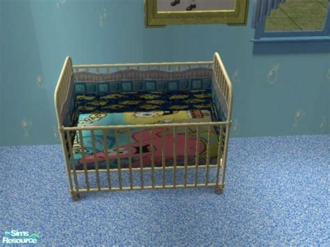 Spongebob Crib Set jeyca s spongebob crib bedding