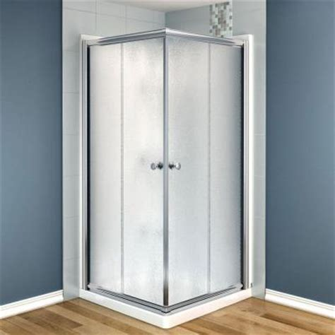 maax centric 36 in x 36 in x 73 in corner square shower
