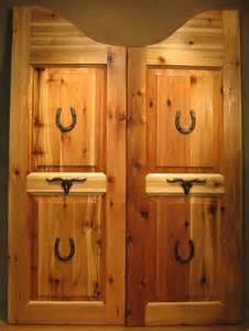 saloon doors for the home doors swinging