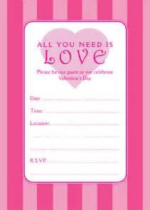 10 best images of printable invitation templates invitation