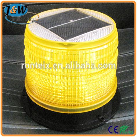 High Intensity Road Barricade Solar Powered Warning Light Solar Powered Warning Lights