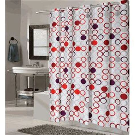 red hookless shower curtain 17 best images about hookless shower curtain on pinterest