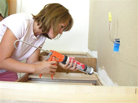 bathroom sink caulk how to install a bathroom countertop how tos diy