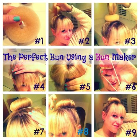 different ways to use the bun maker lalala blog styley techy mommy bloggy