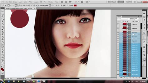 vector shading tutorial tutorial how to make shading lips vector x vexel with