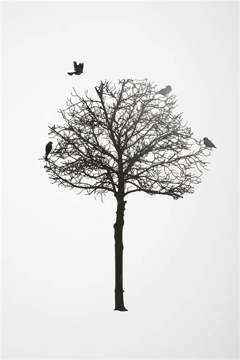 tree silhouette wall stickers silhouette tree wall decal outfitters