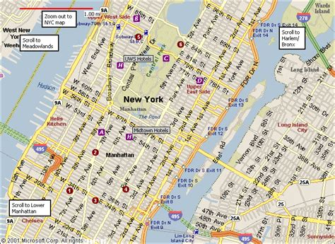 map of manhattan new york city map of midtown manhattan area map of manhattan city pictures