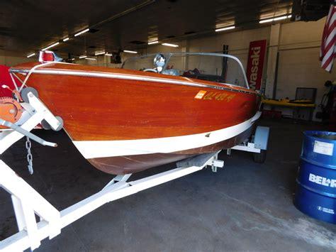 1963 chris craft ski boat vintage one of 270 1963 chris craft 17 custom ski boat w