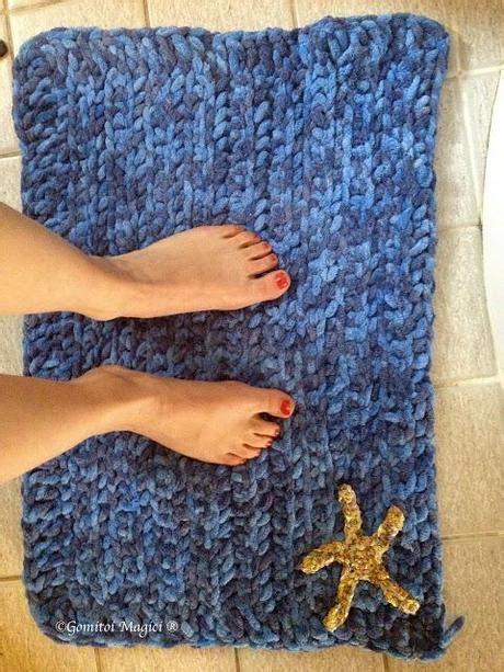 tappeti uncinetto tappeto bagno ad uncinetto paperblog