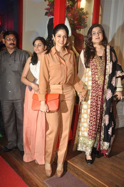 sridevi boutique sridevi at the launch of luxury boutique bandra 190 in