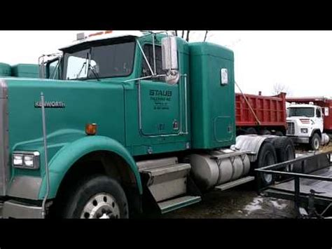 kenworth canadiense 2001 kenworth w900 canadiense youtube