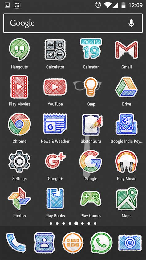 doodle draw theme icon pack apk doodle draw icon pack android apps on play