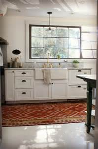 real inspired kitchen kilims