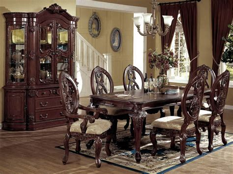 Exclusive Dining Room Furniture Fancy Luxury Formal Dining Room Sets Modern Spacious Dining Room Igf Usa