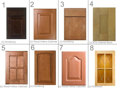 types of kitchen cabinet doors the type and style of kitchen cabinet doors