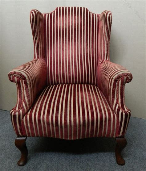 winged armchairs wing back armchair antiques atlas