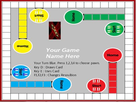 printable sorry board game cards 7 best images of printable sorry board game pieces