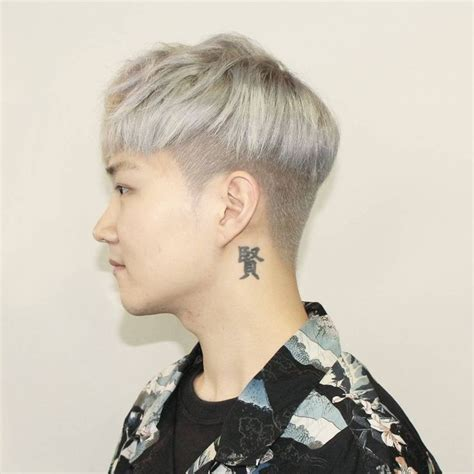 korean cut hairstyles kpop hair undercut