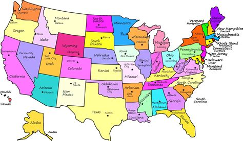 printable labeled map of the united states 10 printable map of the united states with states