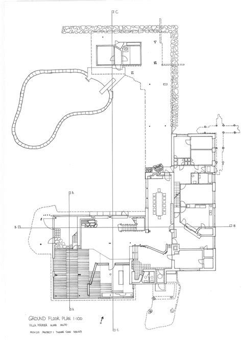 aalto floor plan the gallery for gt villa mairea plan
