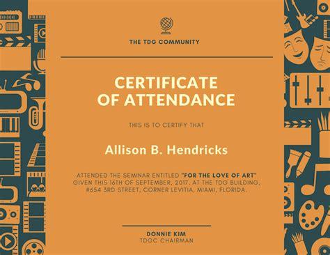 Office Design Ideas by Free Online Certificate Maker Design A Custom Certificate