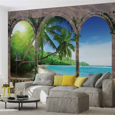 wall murals tropical tropical wall paper mural buy at europosters