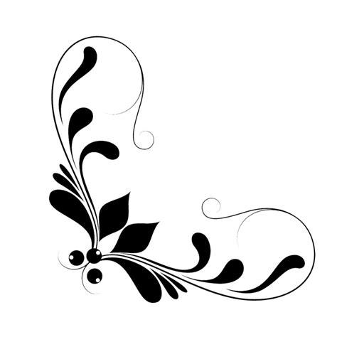 Frame Fotobingkai Fotofigura 16r Black free illustration corner circles decorative free image on pixabay 2351670