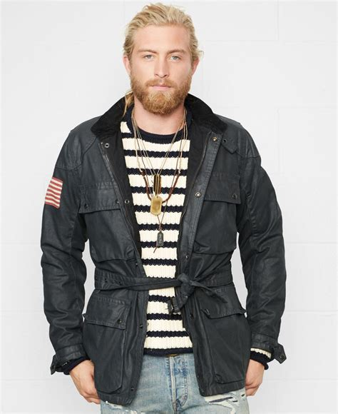 Ralph Jacke by Ralph Denim And Supply Jacke Jayhawks De