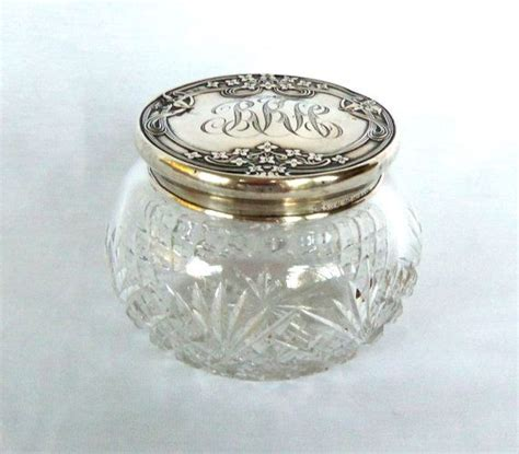 Vanity Jar by 17 Best Images About Antique Silver Vanity Jars On