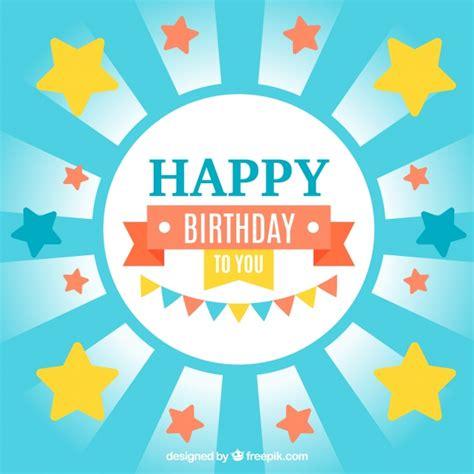 imagenes de happy birthday para descargar gratis invitaci 243 n de cumplea 241 os con estrellas descargar