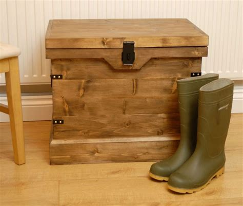 Handmade Wooden Trunks - details about wooden chest trunk wellington boot shoe