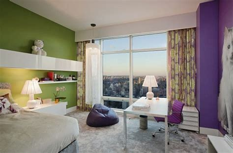 green and purple bedroom decorating with purple purple rooms designs