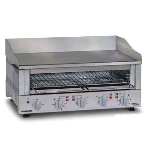 Roband Toaster roband griddle toaster gt400 and gt700 commercial