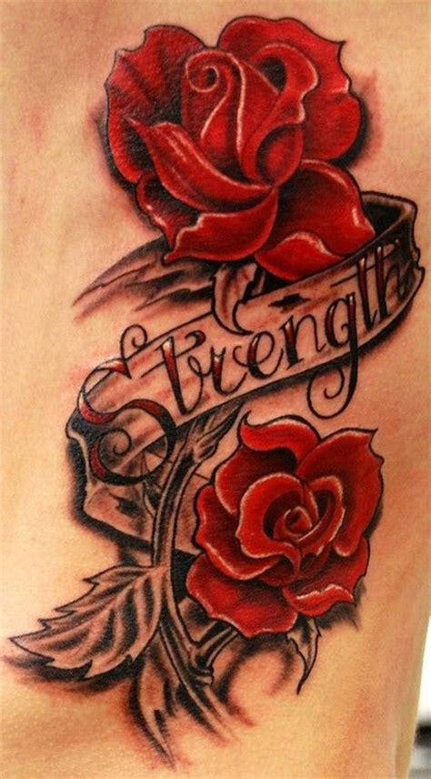 rose tattoo strength maybe an idea to cover my scar