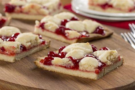 cherry kuchen bars mrfood com