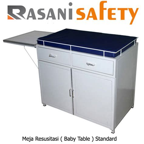 Meja Resusitasi Meja Resusitasi Bayi Baby Table Rasani Safety
