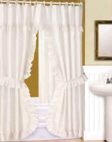 shower curtain curtain bath outlet better home swag shower