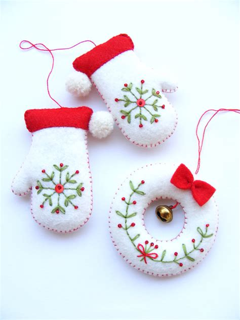 christmas crafts felt pdf pattern etsy diy and crafts