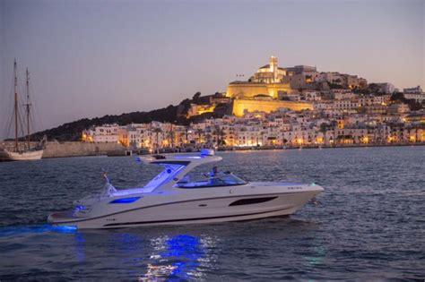 small motor boat hire ibiza hire boat sea ray 350 slx dream boats ibiza boat hire