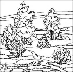landscape coloring pages free coloring pages of landscapes