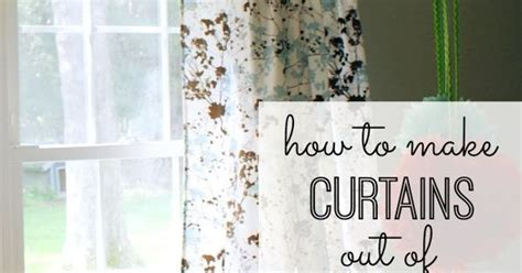 diy curtains out of sheets diy no sew curtains out of twin sheets cut a slit in each