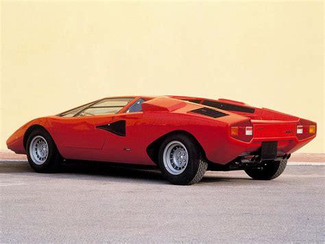 Lamborghini Countach 1974 1974 1978 Lamborghini Countach Lp400 Periscopo Specs
