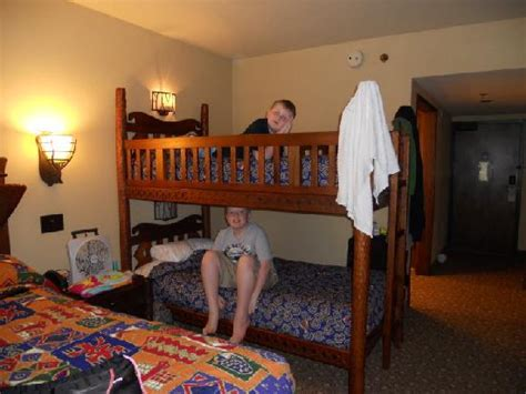 Animal Kingdom Lodge Bunk Beds Bunk Beds For The Picture Of Disney S Animal Kingdom Lodge Orlando Tripadvisor