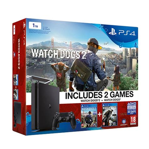 Sony Ps4 Dogs 2 by Sony Dogs Dogs 2 Ps4 1 Tb Slim Oyun