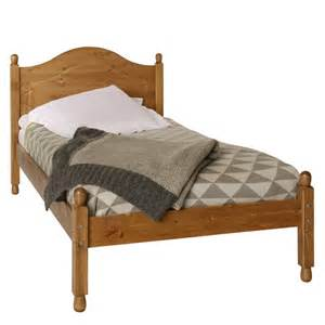 Single Bed Frame Copenhagen 3 Ft Single Bed Frame Pine