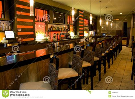 luxury bar restaurant royalty  stock image image