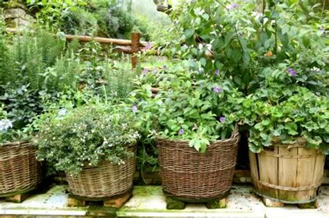 Ideas For Herb Garden Containers Herb Garden Inspiration Ideas 50 Pots Planters And Containers Bystephanielynn